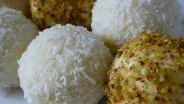 Ricetta dolce veloce: palline di cocco e cacao