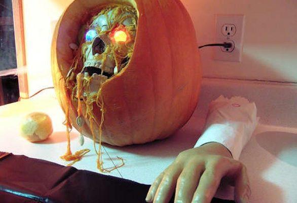 Zucche di Halloween: qualche foto