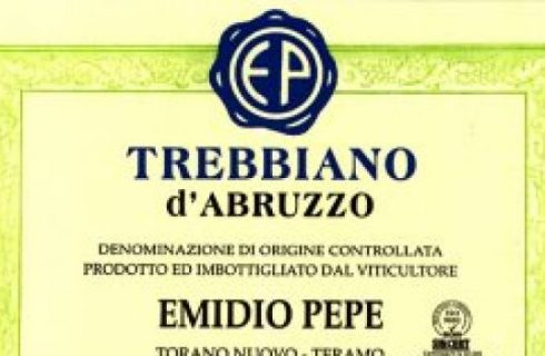 Degustazioni vino: il Trebbiano d'Abruzzo di Emidio Pepe