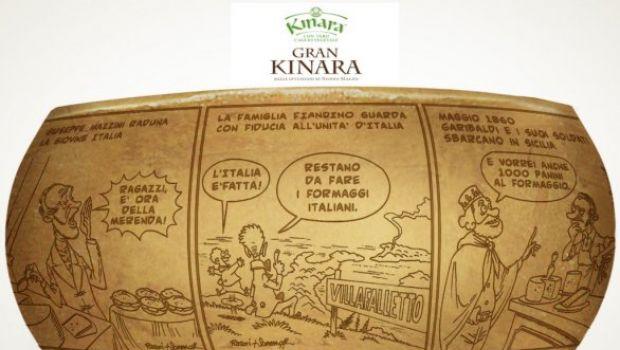 """Il formaggio """"illustrato"""" delle Fattorie Fiandino"""
