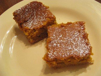 Ricetta dolce di Halloween: torta di zucca e frutta secca
