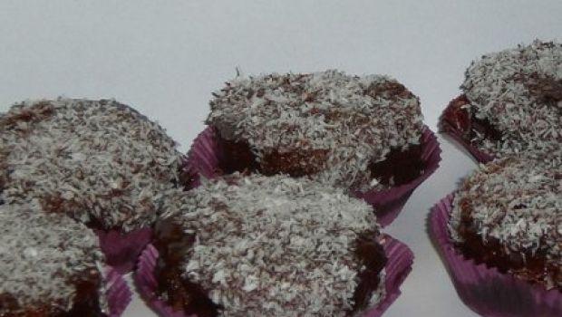 Ricetta facile: muffin soffici cacao e cocco