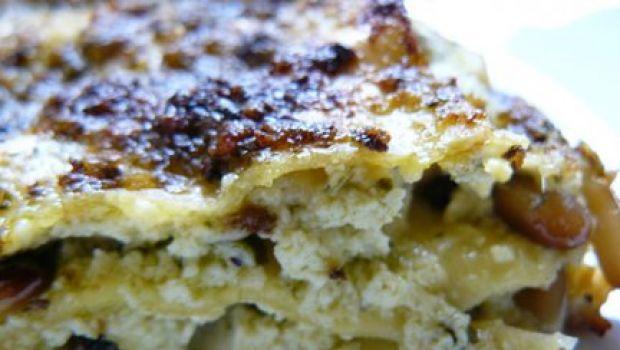 Cenone vegetariano: le lasagne verdi ai formaggi