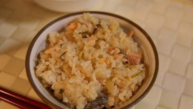 Ricetta facile: riso al pesce e zenzero