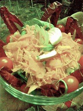 Contorni per capodanno: insalata mista.