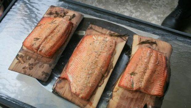 Ricetta veloce: salmone al forno con verdure