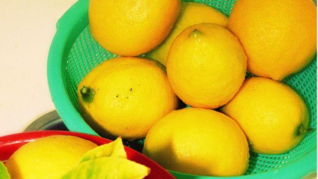 La marmellata di limoni con il miele