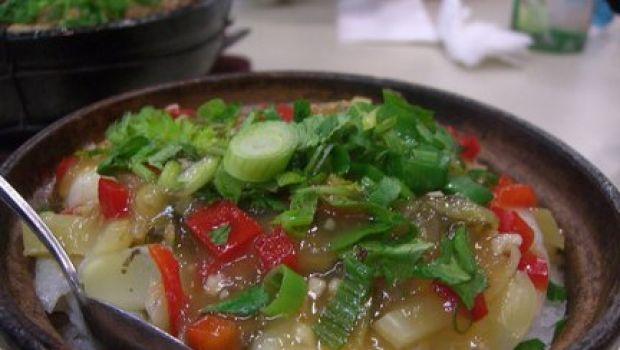 Ricetta veloce: terrina di riso e verdure