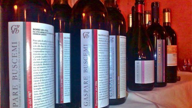 Il vino secondo Gaspare Buscemi.