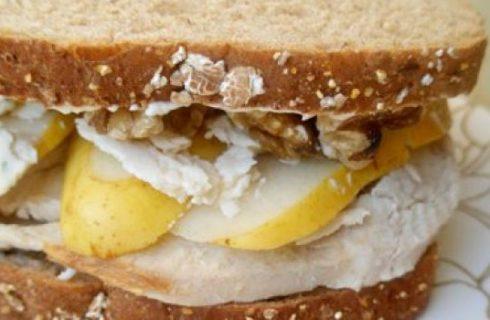 Un panino al giorno: al tacchino, pere e gorgonzola