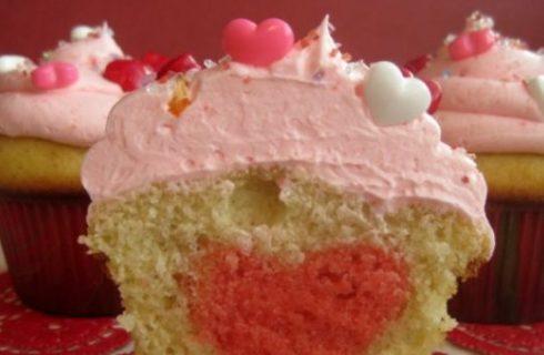 Speciale ricette per San Valentino: i muffins con il cuore