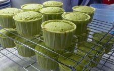 Ricetta dolce particolare: muffin al tè verde