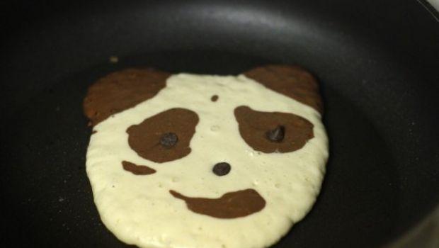 Ricette per la colazione: i panda-pancake