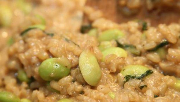 Primi: il risotto di maggio