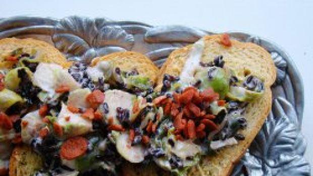 Stuzzichini: i crostini di pane
