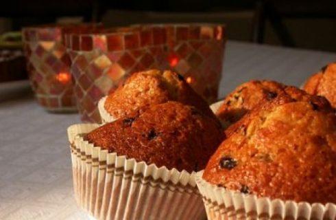 Ricetta dolce: muffin soffici alla ricotta
