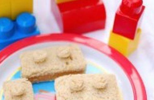 La cucina divertente: i Lego sandwich