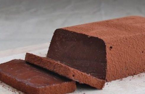 Dessert senza forno: la mattonella al cioccolato
