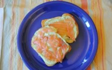 Ricette colorate: i miei toast bicolore