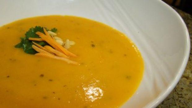 Ricette estive: crema fredda di carote