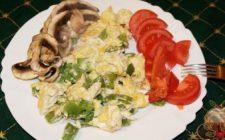Piatti unici: friggitelli con le uova