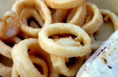 Ricette Ferragosto: calamari fritti al profumo di limone