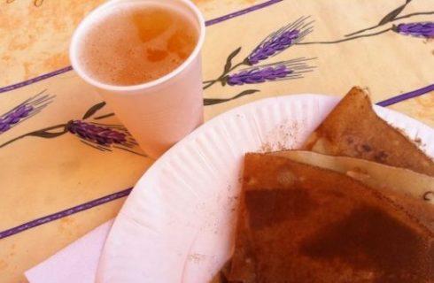 Delikatessen al mercato provenzale