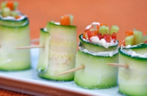 Ricette anticaldo: il sushi di verdure