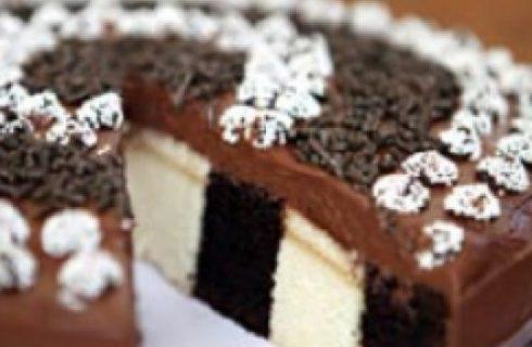 Come decorare le torte: le righe verticali