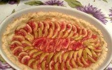 Reinterpretazione della tarte ai fichi settembrini