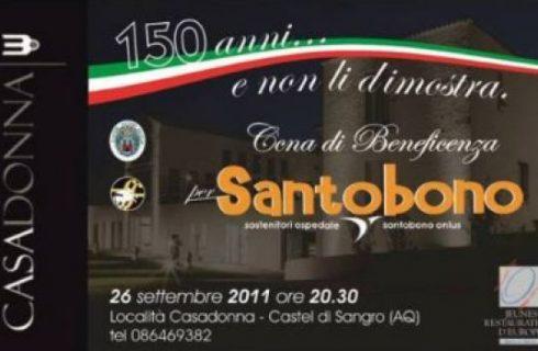 Una cena per l'ospedale Pediatrico Santobono di Napoli