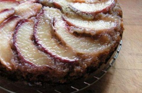Ricetta dolce: torta alla ricotta e pesche