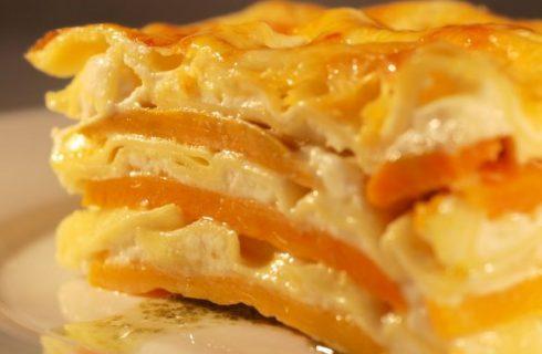Halloween last minute: le lasagne alla zucca e gorgonzola
