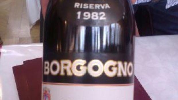 Vini: Barolo Borgogno 1982