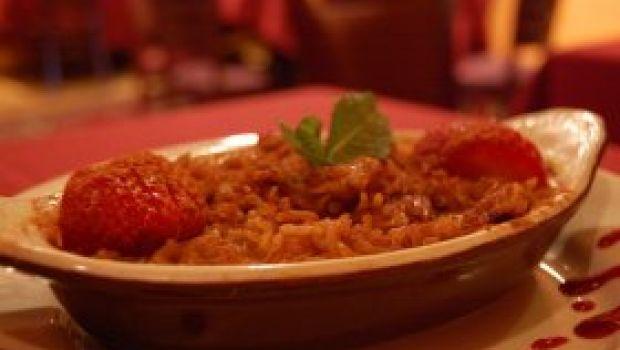 Ricette primi: il risotto alle fragole