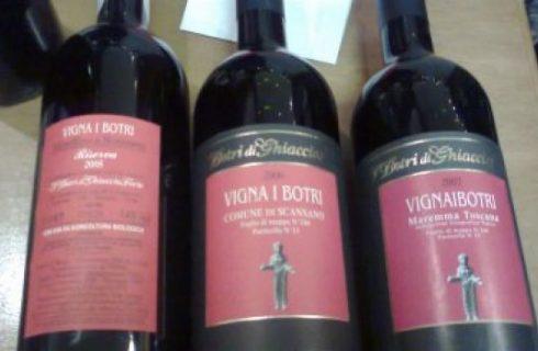 Vino: mini verticale di Morellino di Scansano.