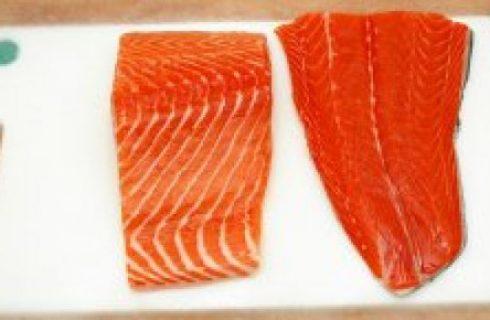 Ricette di Natale: salmone farcito alle mandorle