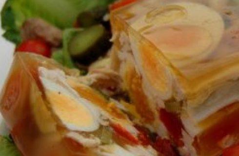 Cucina russa a Natale: la carne in gelatina