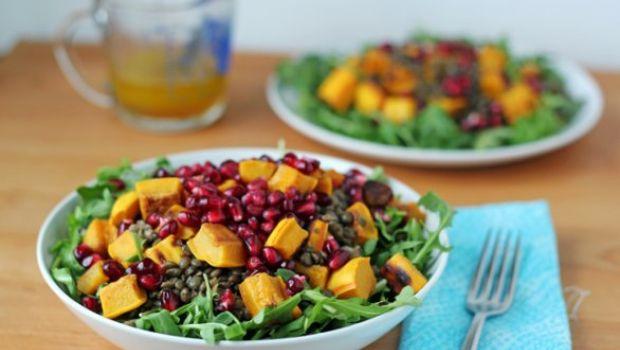 La ricetta dell'insalata invernale tiepida
