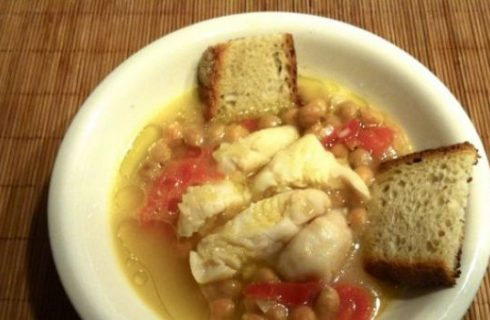 La ricetta provata da Ti ci porto io: zuppetta di pesce velocissima