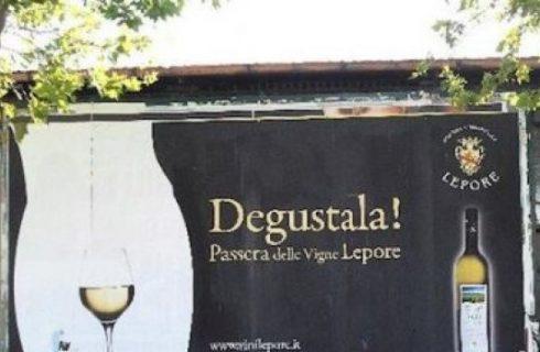 Curiosità: La pubblicità del vino
