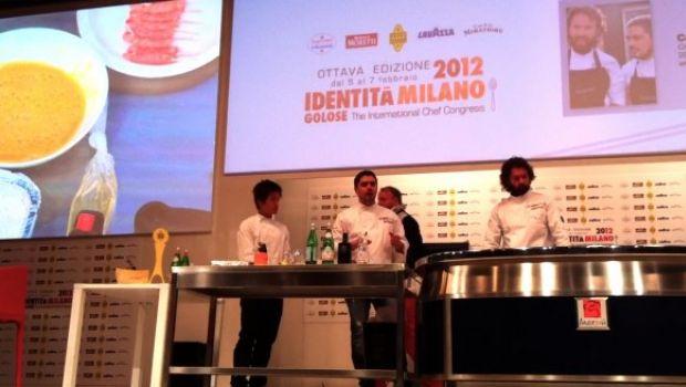Carlo Cracco a Identità Golose 2012