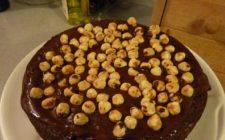 Ricette dolci: torta margherita alle nocciole con nutella