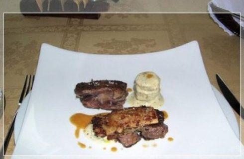 Sanremo 2012: se Belen Rodriguez fosse un piatto? Coscia d'oca afrodisiaca croccante con patate alla senape