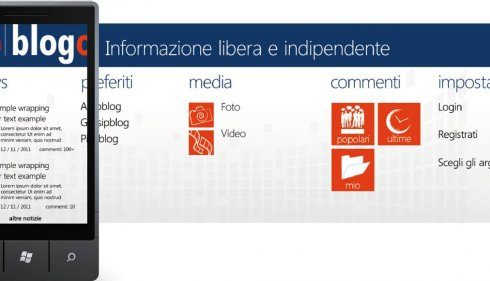 Blogo.it sbarca su Windows Mango!