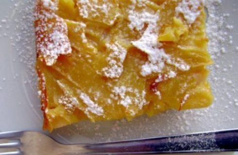 Dolci light: la torta di mele fondente senza grassi