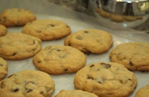 Ricette biscotti, i chocolate chip cookies