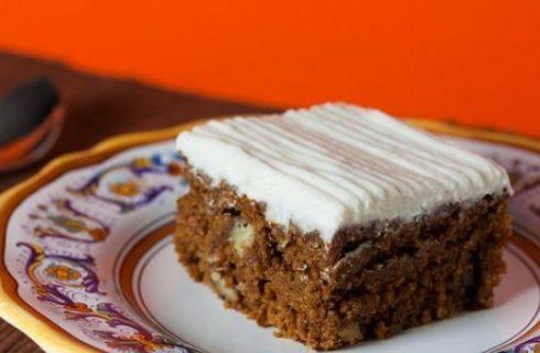 La carrot cake, ovvero la torta di carote americana