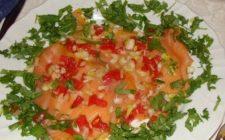 Ricette light: carpaccio di salmone al vapore
