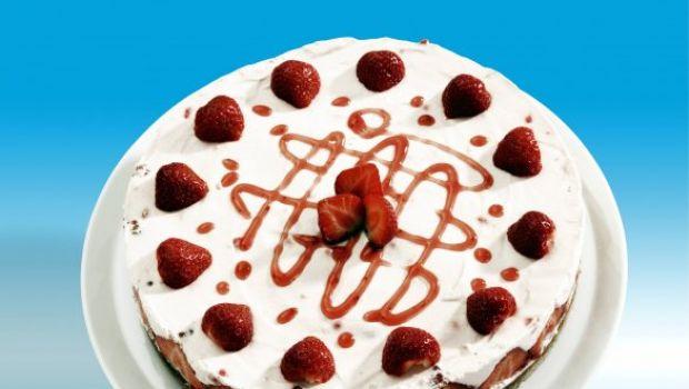 La torta fragole e panna, un classico della pasticceria